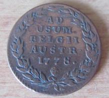 Pays-Bas Autrichiens - Monnaie 2 Liards Marie-Thérès Buste Voilé 1778 Bruxelles TTB - [ 1] …-1795 : Période Ancienne