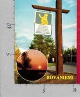 CARTOLINA VG FINLANDIA - ROVANIEMI - 10 X 15 - ANN. 1977 - Finlandia
