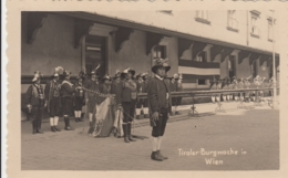 AK - Wien, Tiroler Burgwache Zum Katholikentag Am 10.09.1933 - Wien