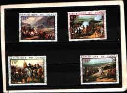 90389) REPUBBLICA DEL CONGO- 1968 QUADRI DI NAPOLEONE POSTA AEREA-MNH**-SERIE COMPLETA N. 80-83 - Congo - Brazzaville