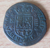 Espagne - Monnaie 4 Maravedis 1720 Pour Philippe V - Poids : 8,4 Grammes - Diam. 27 Mm - [ 1] …-1931 : Royaume