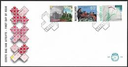 1985 - NEDERLAND - FDC + SG 1467/1469 + 'S GRAVENHAGE - FDC