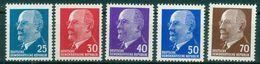 DDR 1963 / MiNr.   934 – 938   ** / MNH   (o4258) - DDR