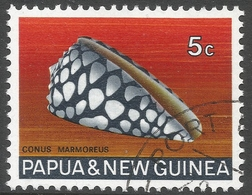 Papua New Guinea. 1968-69 Sea Shells. 5c Used. SG 140 - Papouasie-Nouvelle-Guinée