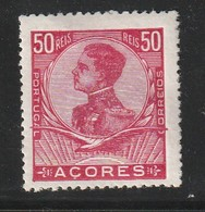 ACORES - N°115 * (1910) Emmanuel II - ERREUR De COULEUR En Rouge Au Lieu De Bleu - - Azores