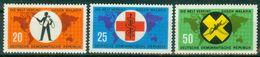 DDR 1963 / MiNr.   942 – 944   ** / MNH   (o4261) - DDR
