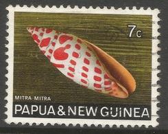 Papua New Guinea. 1968-69 Sea Shells. 7c Used. SG 141 - Papouasie-Nouvelle-Guinée