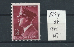 Germany , Empire , Michel-No. 813y  , Mint (as Per Scans) MNH - Deutschland