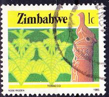 Simbabwe - Tabak (Nicotiana Tabacum) (Mi.Nr.: 309) 1985 - Gest. Used Obl. - Zimbabwe (1980-...)