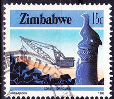 Simbabwe - Kohleabbau (Mi.Nr.: 317) 1985 - Gest. Used Obl. - Zimbabwe (1980-...)