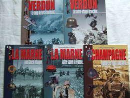 LES MINIS GUIDES HISTOIRE & COLLECTIONS PAR A. THERS GUERRE 1914 1918 CHAMPAGNE MARNE VERDUN - 1914-18