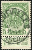 "COB   83  (o) Oblitération ""Neufvilles"" T1L - 1893-1907 Armoiries"