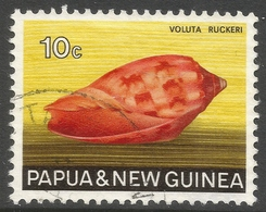 Papua New Guinea. 1968-69 Sea Shells. 10c Used. SG 142 - Papouasie-Nouvelle-Guinée