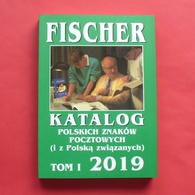 Catalogue Of Polish Stamps FISCHER 2019 - Poland --- Briefmarken Katalog Polen Pologne --- Kat Nskl - Non Classés
