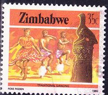 Simbabwe - Traditioneller Tanz (Mi.Nr.: 325) 1985 - Gest. Used Obl. - Zimbabwe (1980-...)