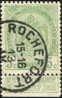 "COB   83  (o) Oblitération ""Rochefort"" T2R - 1893-1907 Armoiries"