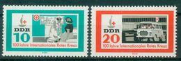 DDR 1963 / MiNr.  956 – 957    ** / MNH   (o4265) - DDR