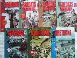 LES MINIS GUIDES HISTOIRE & COLLECTIONS PAR A. THERS GUERRE 1939 1945 NORMANDIE JUIN 1944 BRETAGNE AUVERGNE - 1939-45