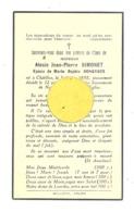 Faire-part De Décès Mr. Alexis SIMONET ép. De Marie Rongvaux - CHÂTILLON 1935 (b243) - Obituary Notices