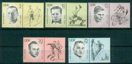 DDR 1963 / MiNr.  958 – 962 Mit Zf    ** / MNH   (o4266) - DDR