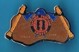 PIN'S //  ** SAPEURS POMPIERS / BRIGNON / SAUVER Ou PERIR ** - Feuerwehr