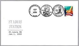Moneda 1 DOLAR - ONE DOLLAR Coin. St.Louis MO 2000 - Monedas