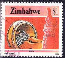 Simbabwe - Mbira (Mi.Nr.: 328) 1985 - Gest. Used Obl. - Zimbabwe (1980-...)