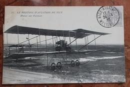 NICE (06) - LE MEETING D'AVIATION DE NICE - DURAY SUR FARMAN - Transport Aérien - Aéroport
