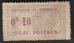Madagascar Colis Postal No 1* - Madagascar (1889-1960)