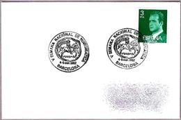 V SEMANA NACIONAL DE NUMISMATICA. MONEDA - COIN. Barcelona 1982 - Monedas