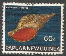 Papua New Guinea. 1968-69 Sea Shells. 60c Used. SG 149 - Papouasie-Nouvelle-Guinée
