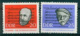 DDR 1963 / MiNr.   966 – 967    ** / MNH   (o4268) - DDR