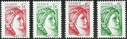 France 2017 - Sabine De Gandon - Salon D'automne - Timbres Neufs ** N° 5179 Et 5180 - 5183 Et 5184 - France