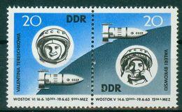DDR 1963 / MiNr.   970 – 971  Zusammendruck    ** / MNH   (o4270) - DDR