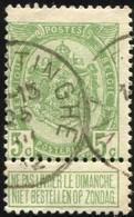 "COB   83  (o) Oblitération ""Vlamertinghe"" T2R - 1893-1907 Armoiries"