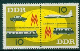 DDR 1963 / MiNr.   976 – 977  Zusammendruck    ** / MNH   (o4273) - DDR