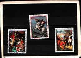 90393) GABON- 1969 QUADRI DI NAPOLEONE POSTA AEREA -MNH**-SERIE COMPLETA N.70-72 - Gabon (1960-...)
