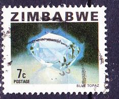 Simbabwe - Blauer Topas (Mi.Nr.: 231) 1980 - Gest. Used Obl. - Zimbabwe (1980-...)
