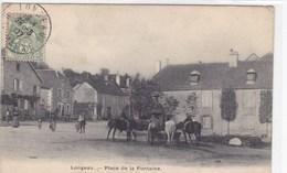 Haute-Marne - Longeau - Place De La Fontaine - France