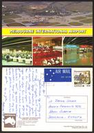 Australia MELBOURNE International Airport Aerodrome Stamp #27547 - Aerodrome
