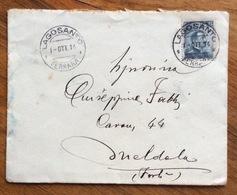 LAGOSANTO FERRARA BUSTA GABINETTO DEL SINDACO  PER MELDOLA IN DATA 1/10/14 - 1900-44 Vittorio Emanuele III