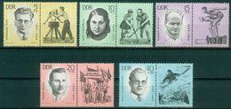 DDR 1963 / MiNr.   983 – 987 Mit Zf    ** / MNH   (o4275) - DDR