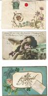 LOT De 20 CPA (Majorite 1903) Fantaisies Diverses Et Variees- VOIR SCANS - Postcards