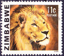 Simbabwe - Löwe (Panthera Leo) (Mi.Nr.: 233) 1980 - Gest. Used Obl. - Zimbabwe (1980-...)