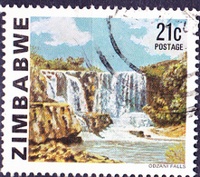 Simbabwe - Odzani-Fälle (Mi.Nr.: 237) 1980 - Gest. Used Obl. - Zimbabwe (1980-...)