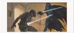 Postcard - Star Wars Art - Ralph McQuarrie - Laser Duel - Feb 14-15 1975 - New - Postales