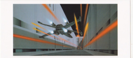 Postcard - Star Wars Art - Ralph McQuarrie - Fighters Dash Down Trench - Novermber 25 1975 - New - Ohne Zuordnung