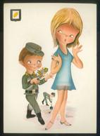 Ilustrador *Castañer* Ed. Fisa. Serie 3002 Nº 3. Circulada 1971. - Ilustradores & Fotógrafos