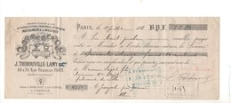 MA5 1888 Mandat Jérome THIBOUVILLE LAMY Maisons HUSSON BUTHOD SAVARESSE Manufacture Instruments Musique - 1800 – 1899