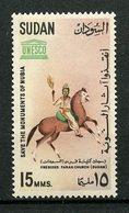 SOUDAN 1964 N° 162 ** Neuf MNH Superbe Chevaux Horses Monuments De Nubie Fresque Eglise De Faras Roi Mage - Soudan (1954-...)